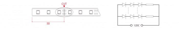 LEDテープライト-smd3528_5050