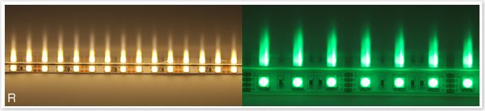 LEDテープライト色:g
